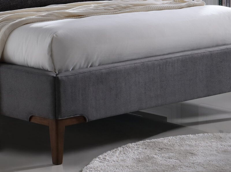 Abdabs Furniture Durban Fabric Bed Frame King Size